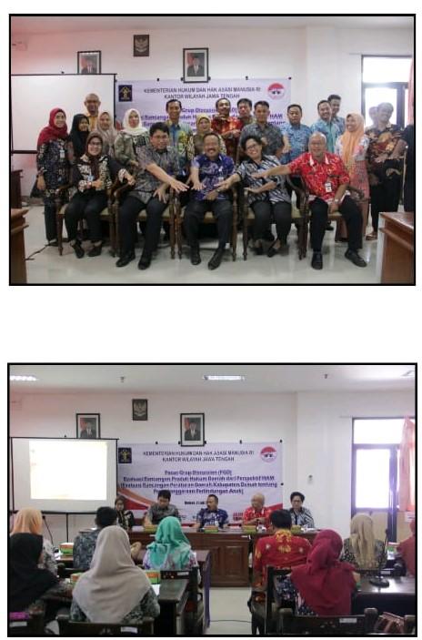 kegiatanFocus GroupDiscussion(FGD)EvaluasiProdukHukumDaerahKab/KotadariPerspektifHAM