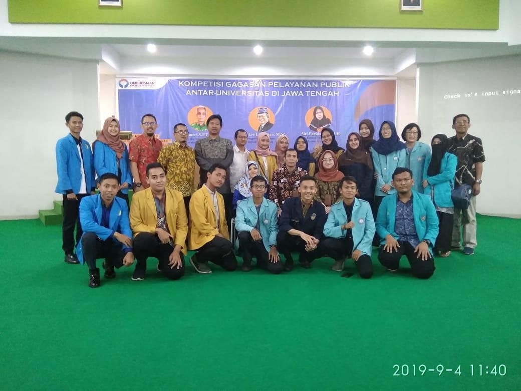 kompetisi gagasan pelayanan publik pada sistem zonasi pendidikan sekolah menengah di wilayah jawa tengah