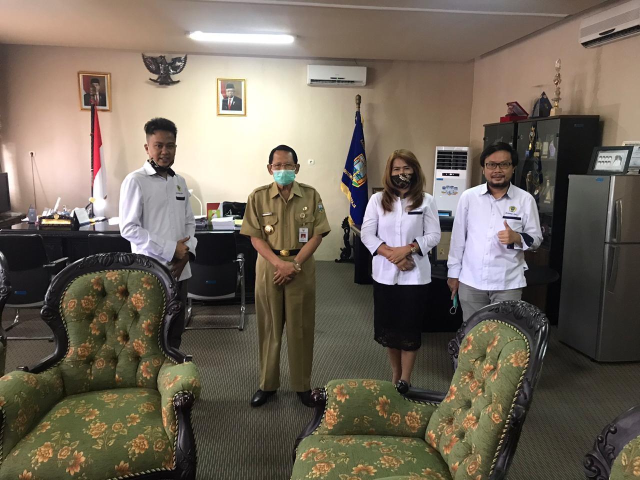 Dosen Program Studi S1 Hukum Melakukan Kunjungan Ke Bupati Kabupaten Semarang